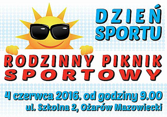 Dzie� Sportu: XXVIII Bieg O�arowski im. Janusza Kusoci�skiego 4 czerwca 2016 r. w O�arowie Mazowieckim