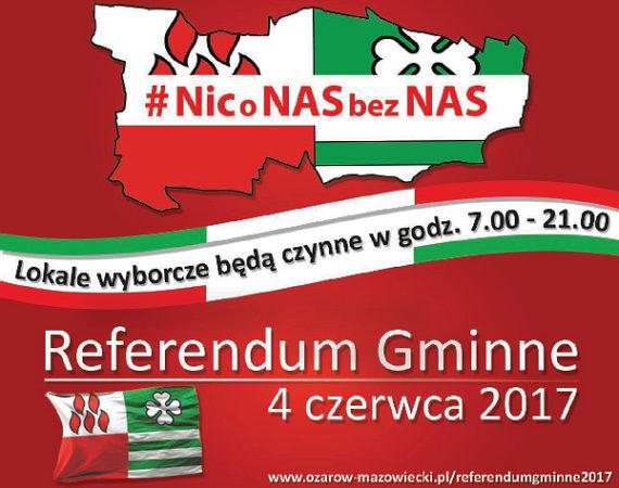 Referendum gminne 4 czerwca 2017 r.